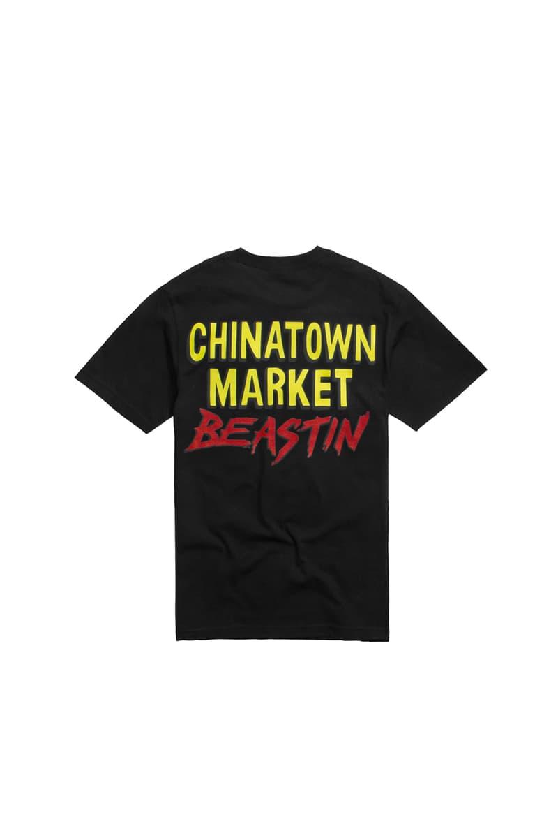bstn beastin chinatown market halloween collection t shirt tee hoodie pumpkin jack o lantern skate deck black orange