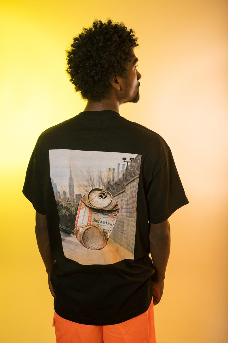 Budweiser x Colin Sussingham Capsule Collection Release Information First Look Lookbook Skateboarding 'Boys - A Decade of Skateboarding in NYC' Alcohol Can American Photography Photographer T-shirts Long Sleeves Hoodies Crews