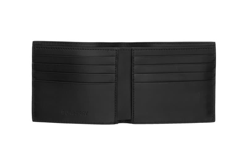 Burberry Hologram Bifold & Zipped Wallets Release Beige Check B Logo Pattern Info Date Buy