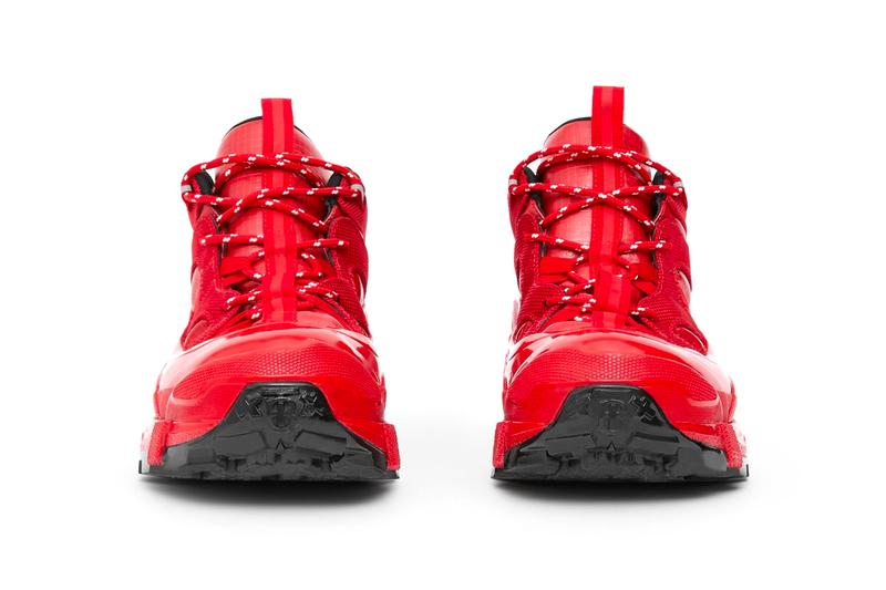 Burberry Nylon and Suede Arthur Sneakers riccardo tisci rain boots rubber red toe weatherized trail hiking made in italy sneaker footwear