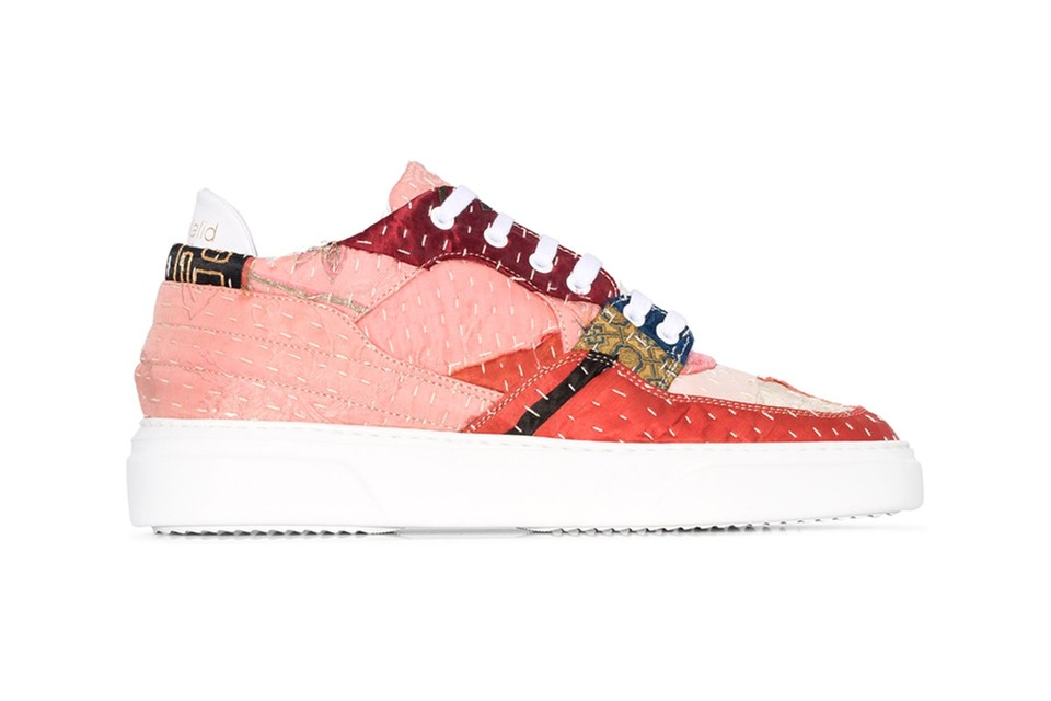 By Walid Releases 19th-Century Textile Sneakers in Vibrant Pink Colorway