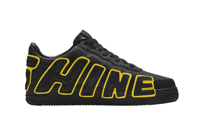 Cactus Plant Flea Market Nike Air Force 1 By You Official Look Black White Yellow Red Release Info Date Buy Capsule