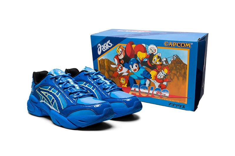capcom mega man megaman rockman rock man gel bnd blue yellow release date info photos 1021A313 400 apparel sneaker colorway running shoe japan