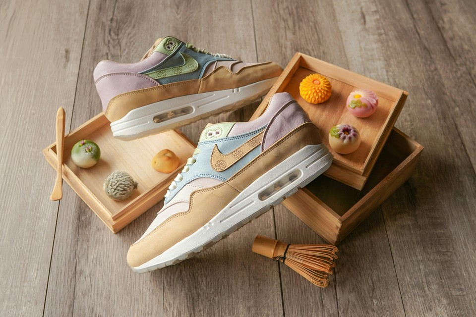Nike Air Max 1s by Ryustyler Reference Traditional Japanese Sweets