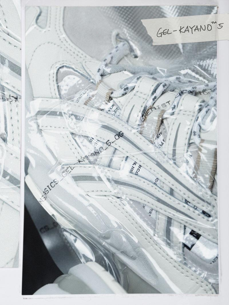 Chemist Creations ASICS GEL-KAYANO 5 OG GEL-FujiTrabuco 7 SPS Release Info Date Buy Grey White Black Fossil