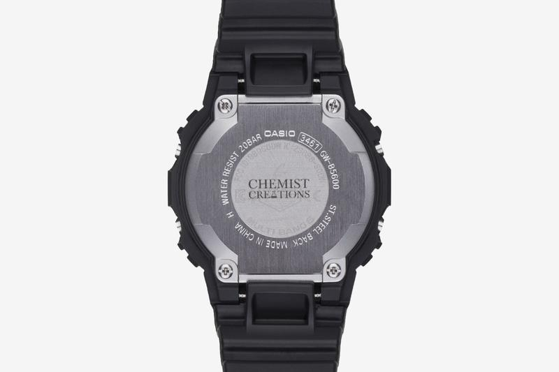 Chemist Creations Casio G-SHOCK GW-B5600AR-1PRC Release Info Date Buy Black Red C2H4 Chemical Geeks
