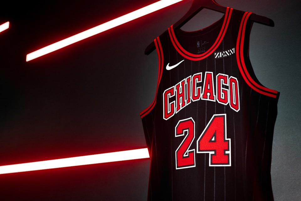 "Chicago Bulls Revive Pinstripe Jerseys for ""Statement Edition"""