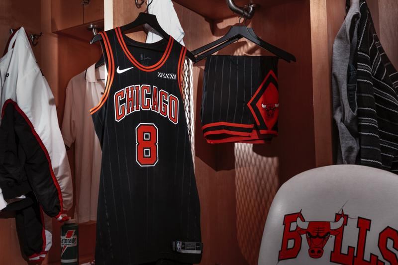 Chicago Bulls Pinstripe Jerseys Statement Edition