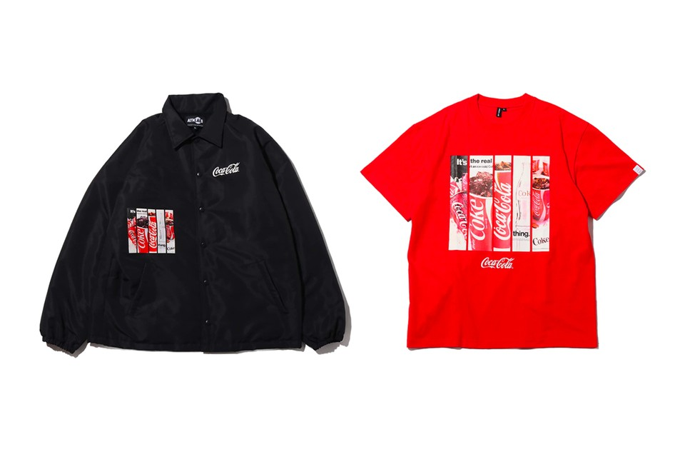 Coca-Cola Taps Atmos Lab for Cozy FW19 Capsule