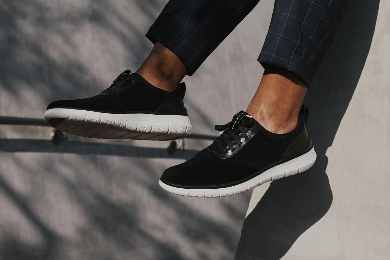 Cole Haan Generation ZERØGRAND Jabari Johnson Lookbook Utilitarian Grand Beginnings Campaign Shavone Charles Shoes Outerwear Bags Jackets Lifestyle
