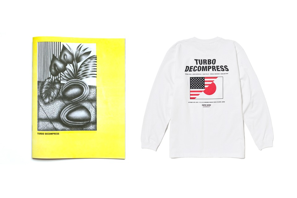 "Paper Work NYC to Present ""TURBO DECOMPRESS"" Exhibition & Zine in Tokyo"