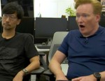 Conan O'Brien Visits Hideo Kojima's Office & Gets Put Into 'Death Stranding'