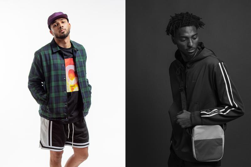 Concepts Fall/Winter 2019 Collection Flannel Long Sleeve Crewneck Sweatshirts Hoodies Pants Purple Green Red Black Purple White Fanny Packs Small Bags Hats