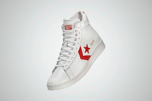 """Converse Brings Back All Star Pro Leather in OG """"White/Red"""" Colorway"""