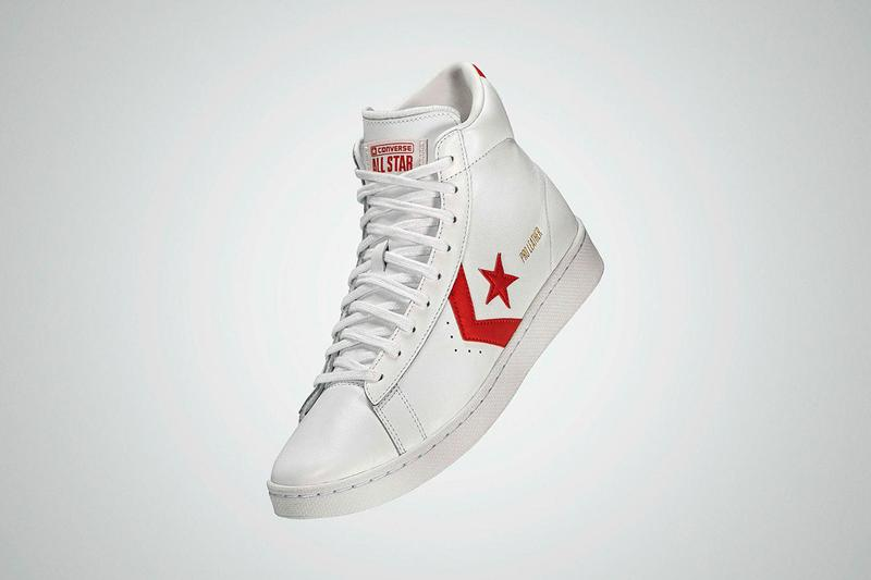 Converse All Star Pro Leather Pack Release Information Footwear Sneakers House of Hoops Chicago New York Brooklyn Los Angeles Chevron Logo White Red