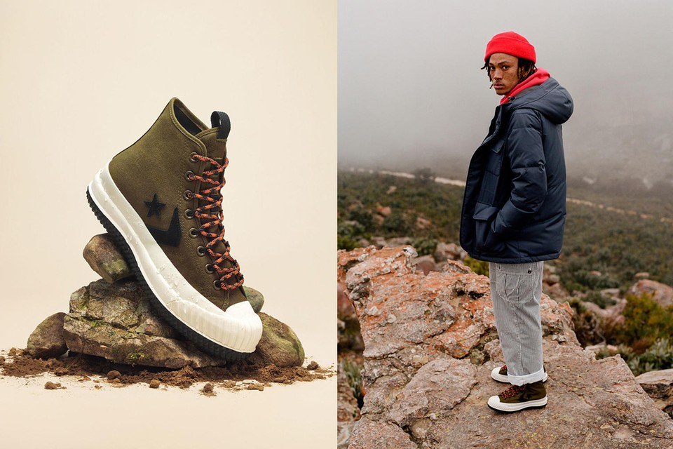 Converse Introduces Second Seasonal Cold Weather Collection