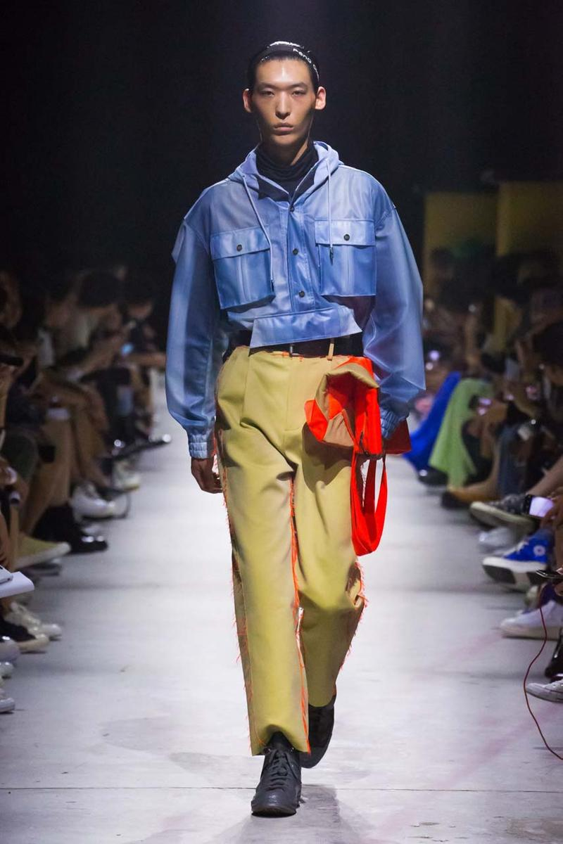 Converse by Feng Chen Wang SS20 Collection Show runway presentation shanghai fashion week spring summer 2020 collaboration stream china menswear womenswear