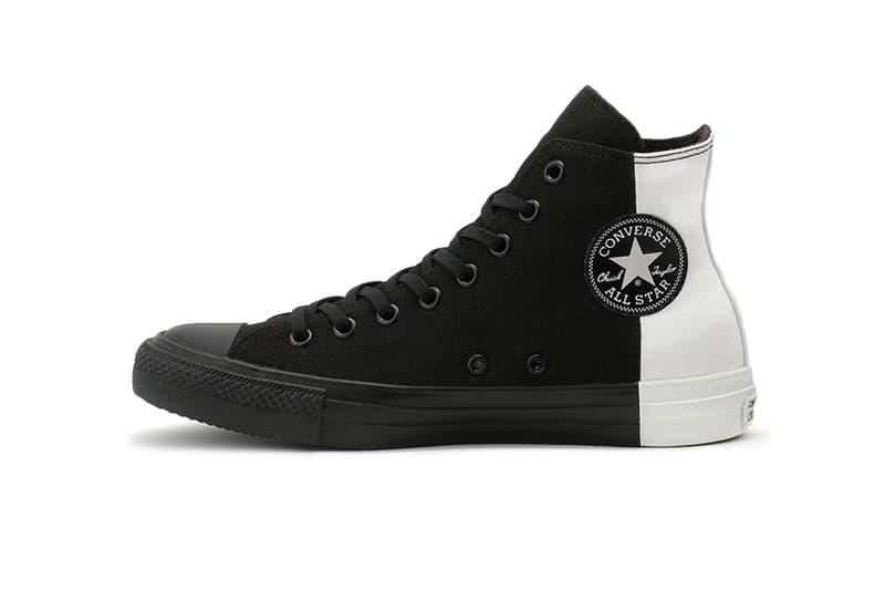 converse japan chuck taylor all star hi high black white yin yang monopanel