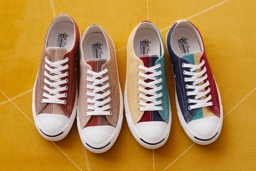 Converse Japan Drops Two Woolen Patchwork Jack Purcells