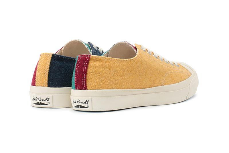 Converse Japan Jack Purcell Multi wool RH sneakers footwear shoes trainers runners all star react HD midsole Fall Winter 2019 asymmetrical crazy pattern november