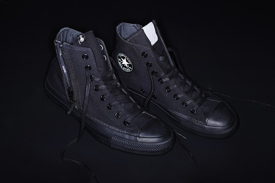 Converse Japan Taps SOPHNET. & N.HOOLYWOOD for Triple Black Chuck Taylors