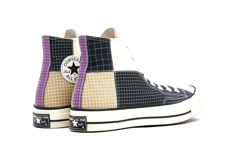 Converse Chuck 70 High Color-Block Patchwork Ripstop