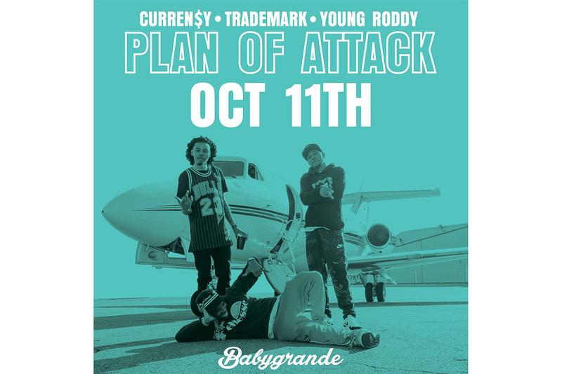 Currensy Trademark Da Skydiver Young Roddy Plan Of Attack Tracklist jet life Release Info Date