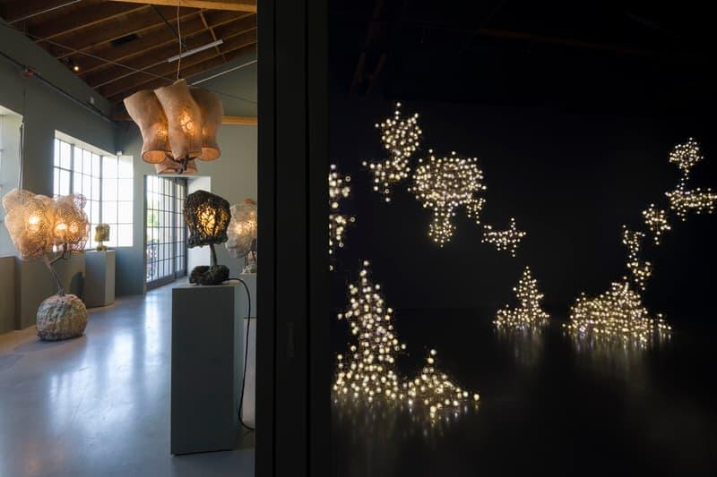 Archaeology virgil abloh rick owens dark fantasy exhibition uta artist space LA furniture architecture los angeles carpenters workshop gallery