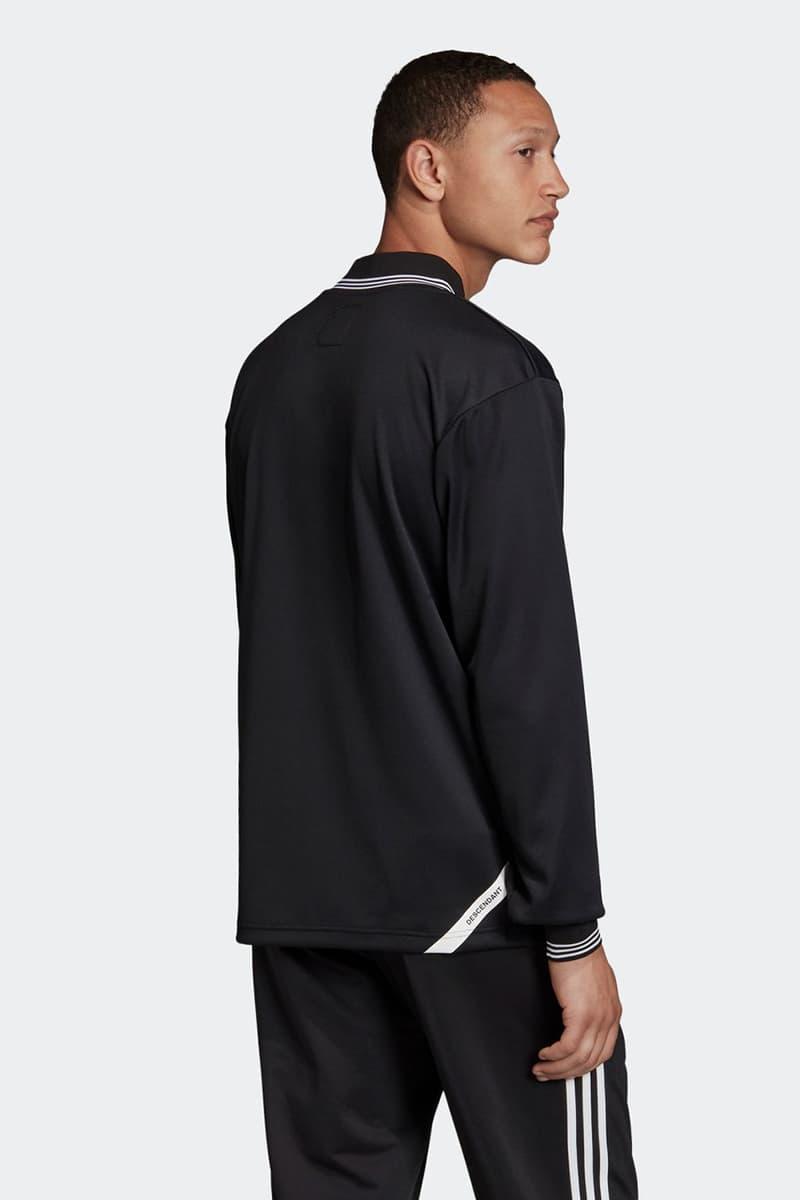 DESCENDANT adidas Originals Keep Rolling Collaboration capsule drop release date info november 1 2019 crustar sneakers apparel clothing 192ADDS-FW01 CSM02 CSM01 PTM01 JKM01 EH1675 EH1676