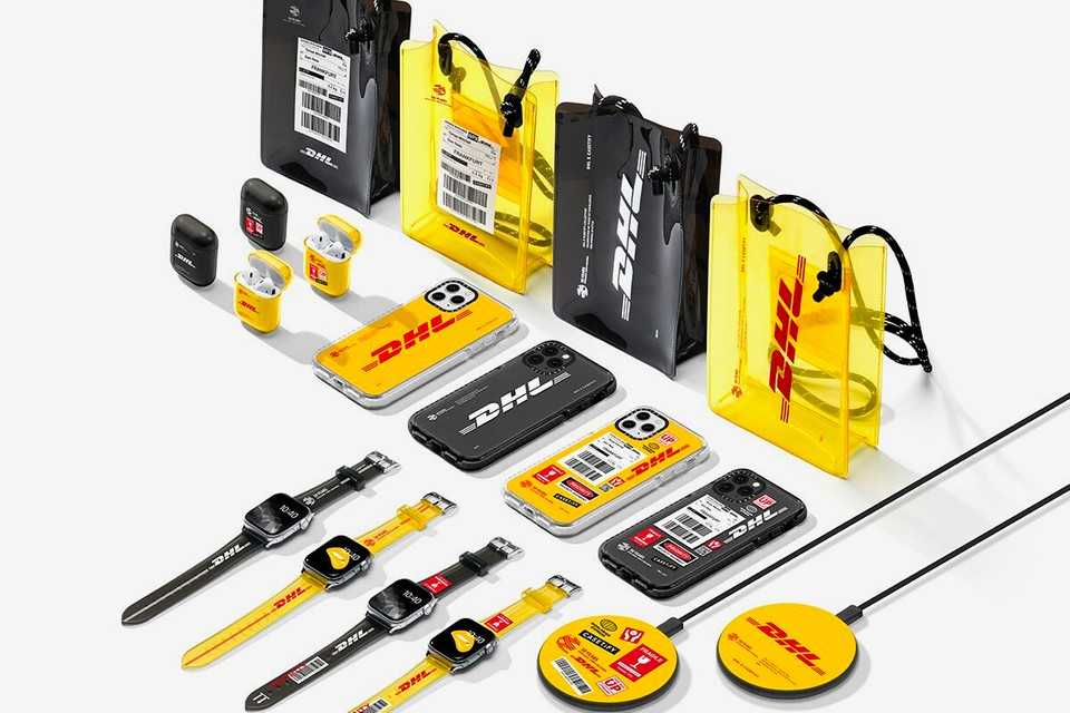 DHL Celebrates Its 50th Anniversary With An Expansive CASETiFY Collection