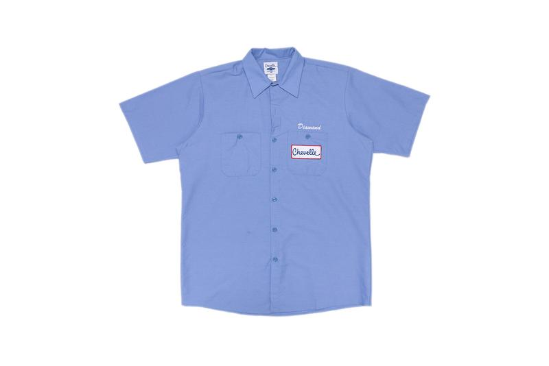 diamond supply chevy chevelle collaboration collection hats buttonups collared shirts jackets
