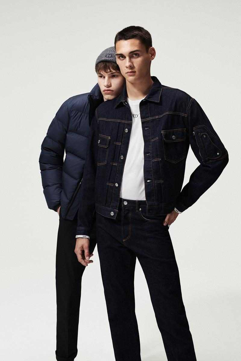 """Dior Men """"Essentials"""" Collection Release Jackets Long sleeves Coats T-shirts Hoodies Black Blue White Suits Bags Puffer Jackets Oblique Jacquard B23 B22 Sneaker"""