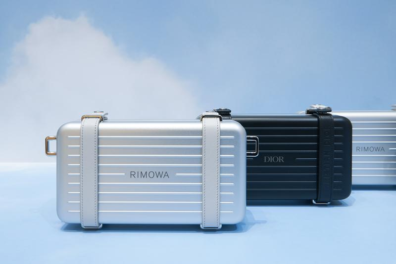 dior rimowa suitcase capsule collection travel launch