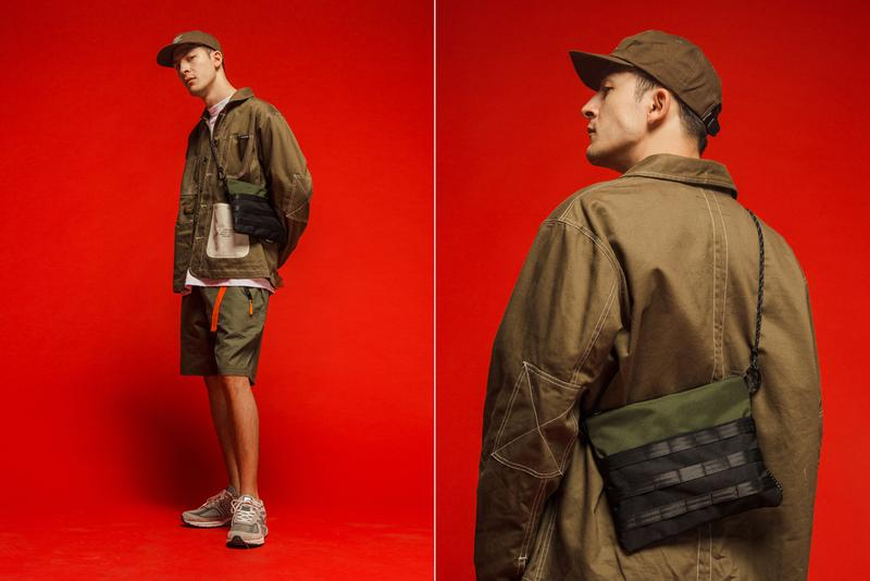 Dominate Jakarta Fall/Winter 2019 Lookbook Collection Jackets Pants Crewnecks Hoodies Shorts T-shirts Belts Hats Bags Brown Olive Black Orange Volt