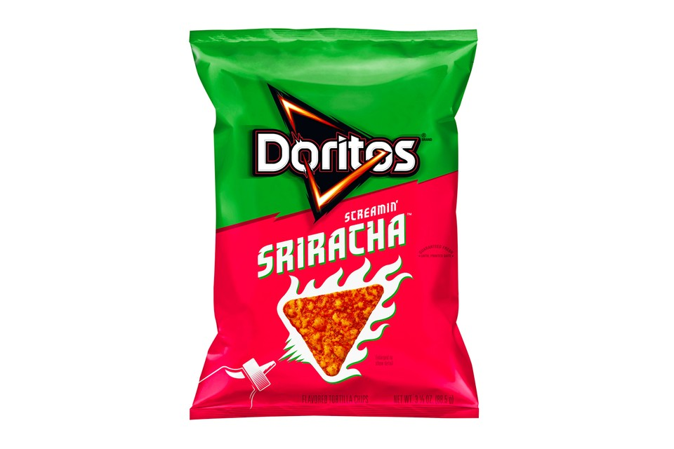 Doritos Turns up the Heat With Its New Screamin' Sriracha Flavor