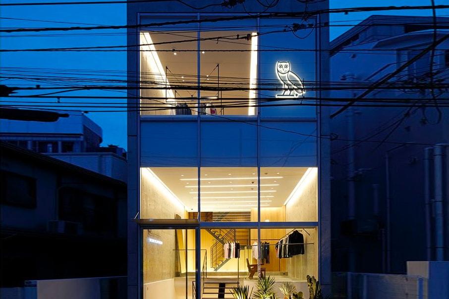 Take a Look Inside Drake's OVO Tokyo Flagship Store