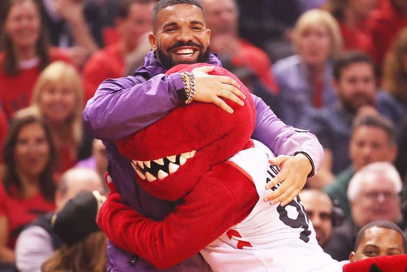 Drake Toronto Raptors NBA Championship jackets mascot jacket coat bomber black finals fred van fleet
