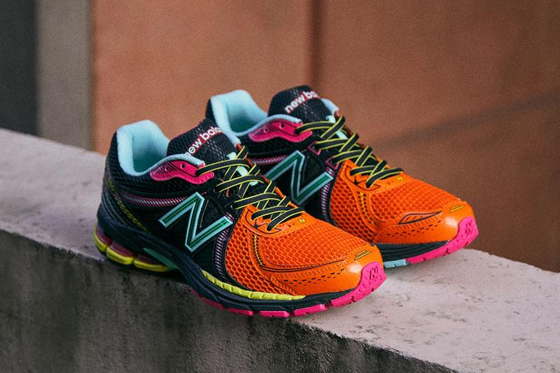 end new balance 860 v2 orange black green pink blue yellow release date info photos ml860xf