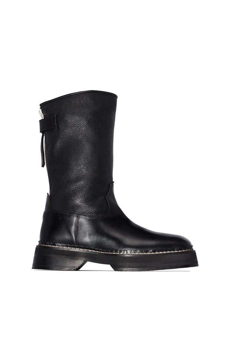 Eytys Black Tuscan Leather Boots