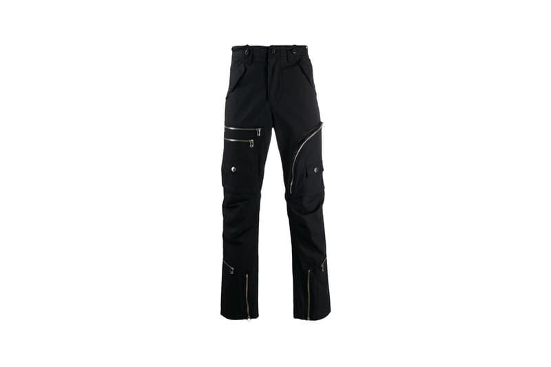 facetasm multi pocket shirt jacket loose fit biker trousers black colorway release fall winter 2019