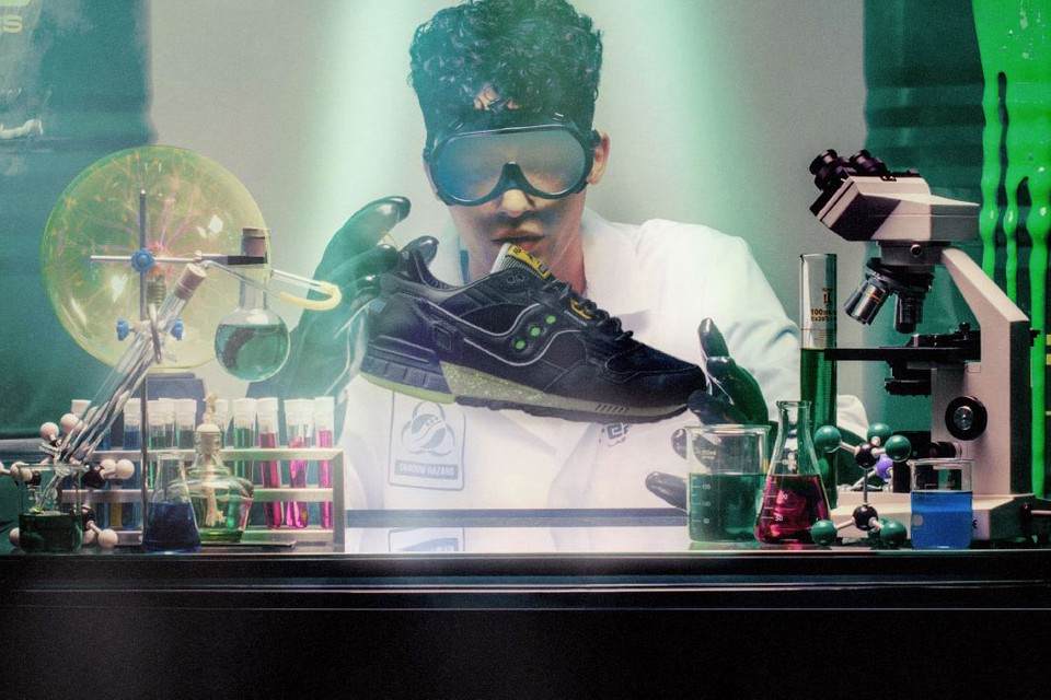 """Feature Channels Mad Scientists for Saucony Shadow 5000 """"Dreamland"""""""