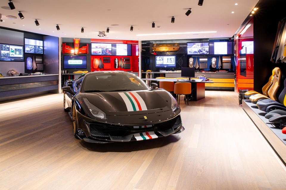 Ferrari Opens First Us Tailor Made Center In Nyc Hypebeast