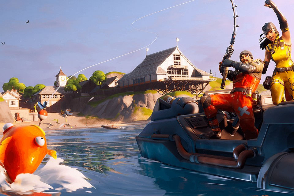 'Fortnite' Has a Golden Fish That Can Kill Enemies in One Hit