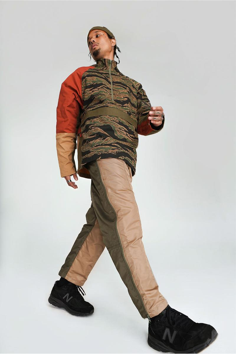 Fortune W.W.D  FW19 Lookbook Manila military jackets outerwear rings bracelets jumpsuits fashion style