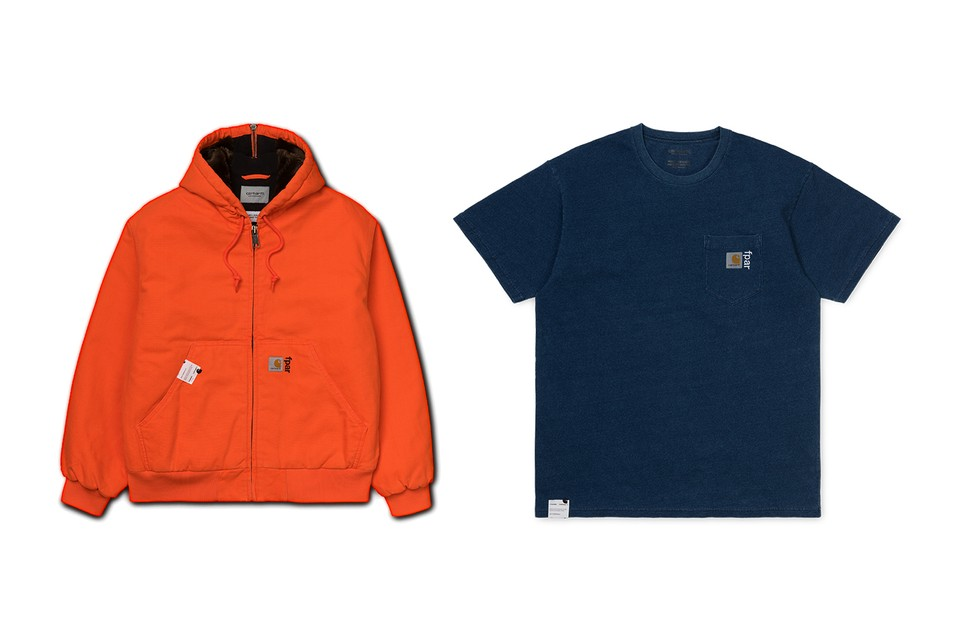 FPAR & Carhartt WIP Crafts a Capsule Centered Around Popular '90s Items
