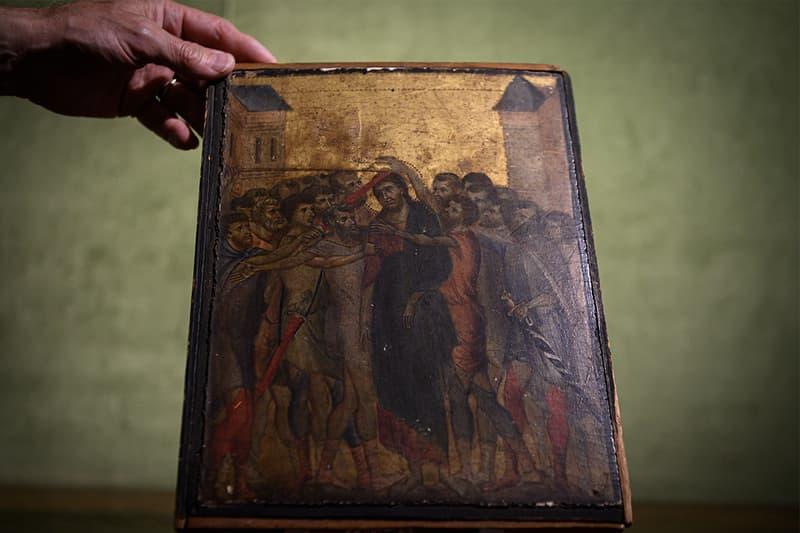 cimabue christ mocked painting art acteon auction pre renaissance Cenni di Pepo Pepi