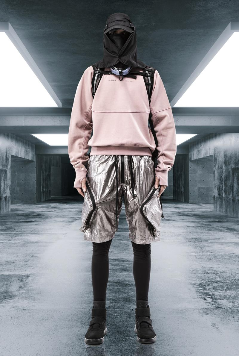 GALL Spring/Summer 2020 Lookbook Collection Jackets Pants Shorts T-shirts Vests Head Masks Black Pink Purple Blue White Bags Hats
