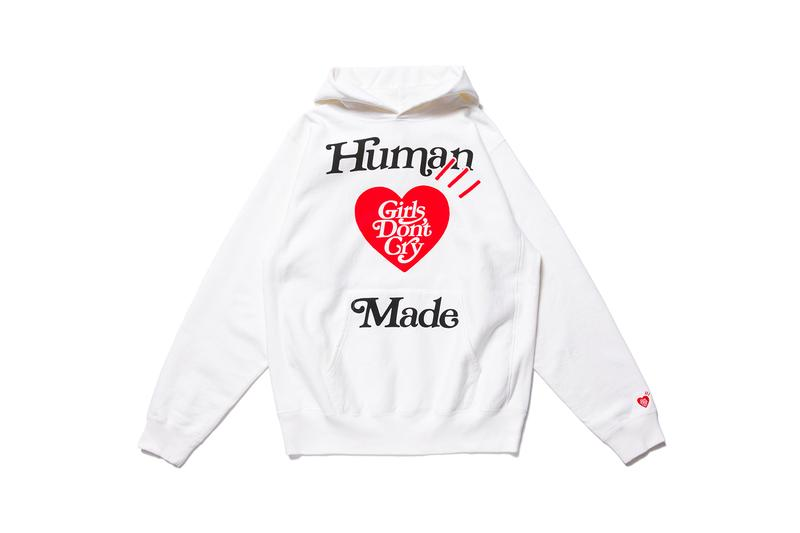 Girls Don't Cry Human Made Verdy Harajuku Day Capsule Release info Date Buy Letterman Jacket Hoodie t shirt Bucket Hat stadium jacket