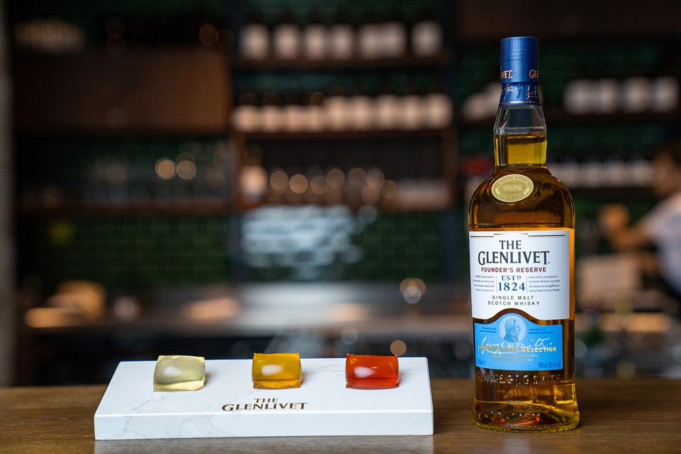 Glenlivet's Alcohol-Infused Capsules Are the Gushers of Cocktails