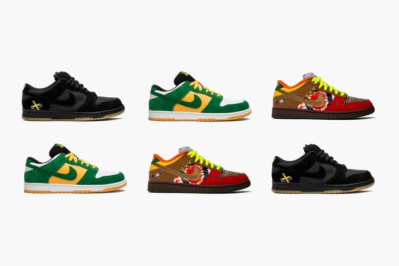 GOAT looks at Travis Scott Nike SB Style Influence Low Pro Buck Tie-Dye What The Dunk Chocolate Futura